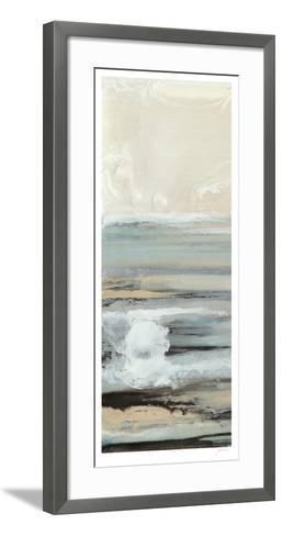 Aqua Seascape III-Ferdos Maleki-Framed Art Print