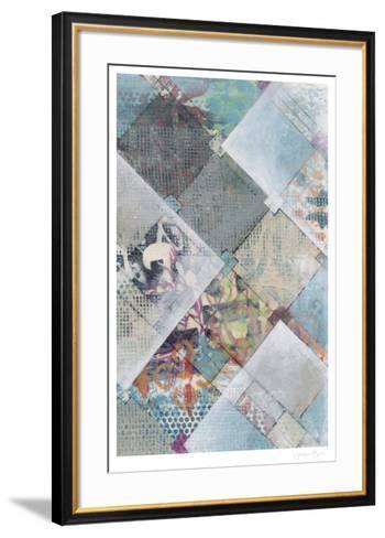 New Plaid II-Jennifer Goldberger-Framed Art Print