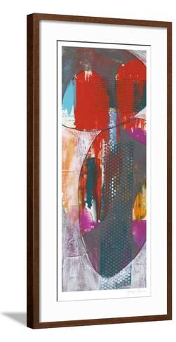 Nested Ellipse I-Jennifer Goldberger-Framed Art Print