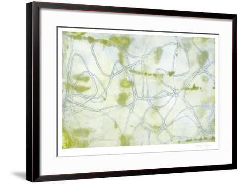 String Theory II-Jennifer Goldberger-Framed Art Print