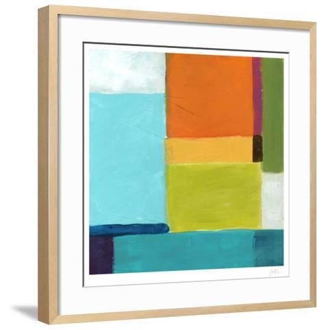 City Square III-Erica J^ Vess-Framed Art Print