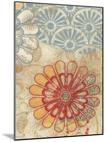 Flora Trance V-Taylor Greene-Mounted Art Print