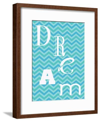 Aqua Dance-Taylor Greene-Framed Art Print