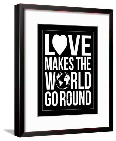 World Go Round-Jace Grey-Framed Art Print