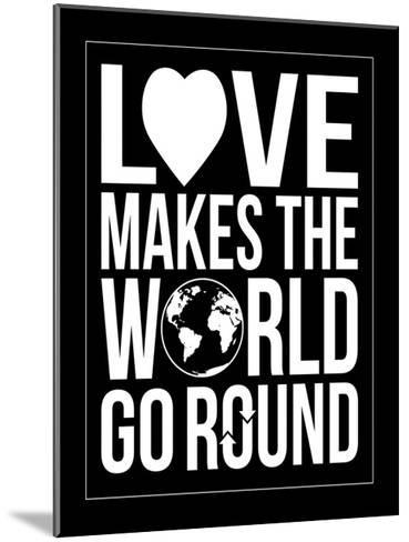 World Go Round-Jace Grey-Mounted Art Print