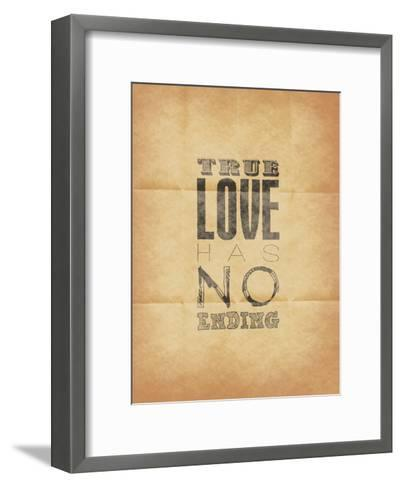 True Love-Jace Grey-Framed Art Print