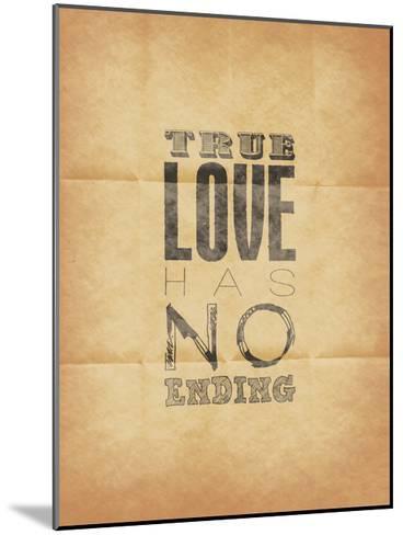 True Love-Jace Grey-Mounted Art Print