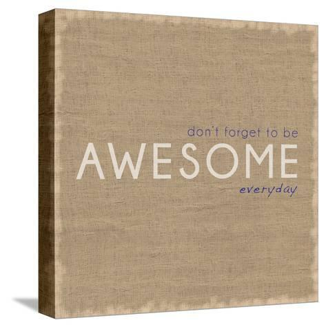 Awesome-Lauren Gibbons-Stretched Canvas Print