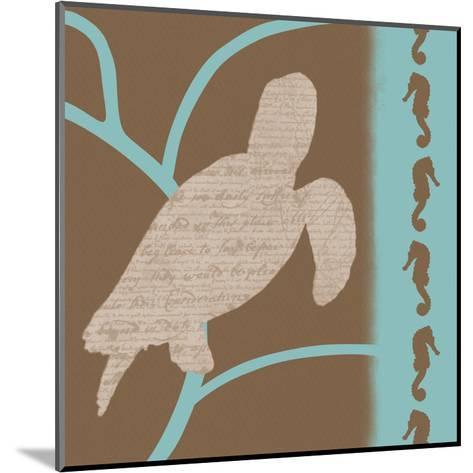 Turtle Pattern-Lauren Gibbons-Mounted Art Print