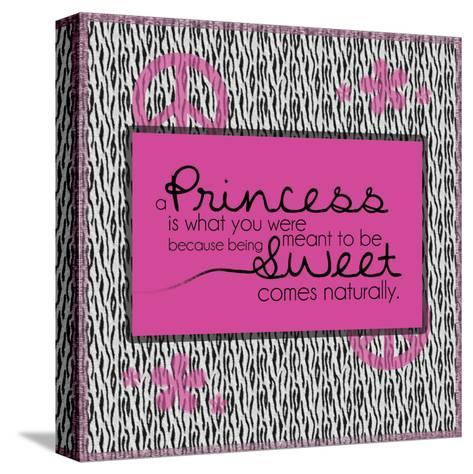 Princess 1-Lauren Gibbons-Stretched Canvas Print