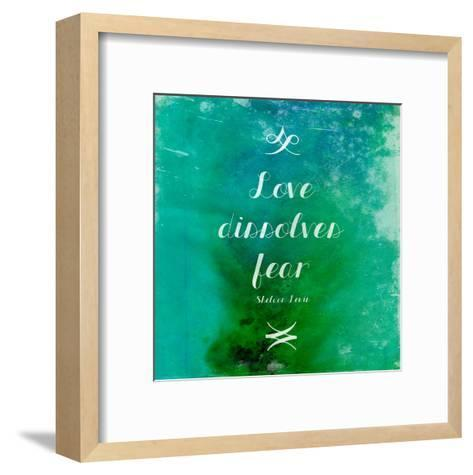 Love-Jace Grey-Framed Art Print