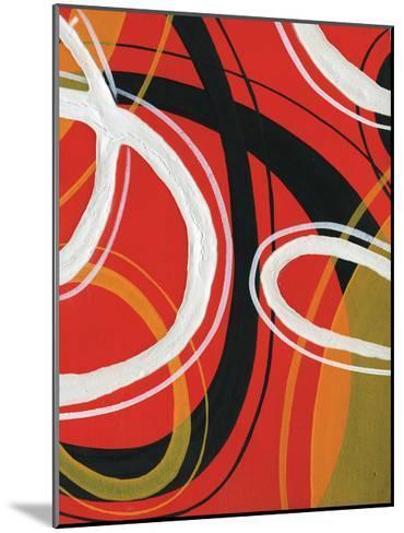 Red Circles-A Ruiz-Mounted Art Print