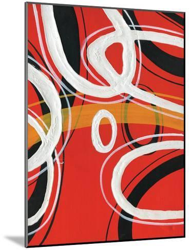 Red Circles I-A Ruiz-Mounted Art Print