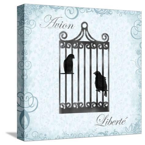 Birdcage 4-Lauren Gibbons-Stretched Canvas Print