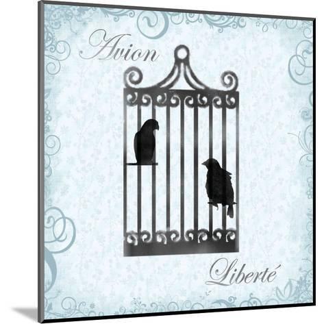 Birdcage 4-Lauren Gibbons-Mounted Art Print