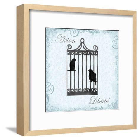Birdcage 4-Lauren Gibbons-Framed Art Print