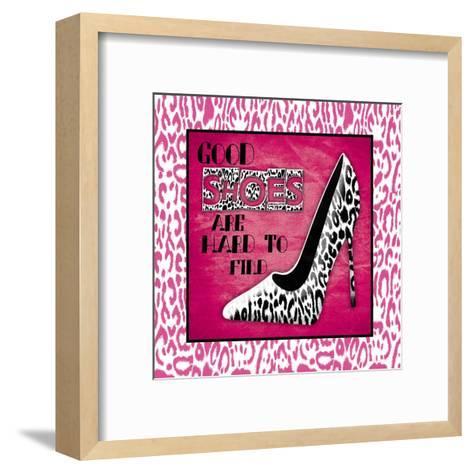 Shoes 2-Jace Grey-Framed Art Print