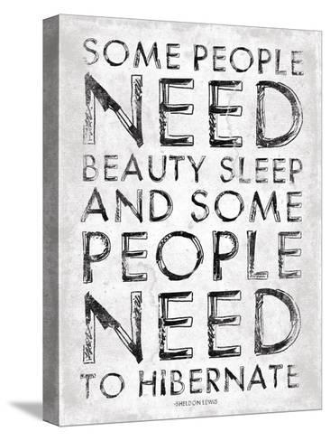 Hibernate-Jace Grey-Stretched Canvas Print