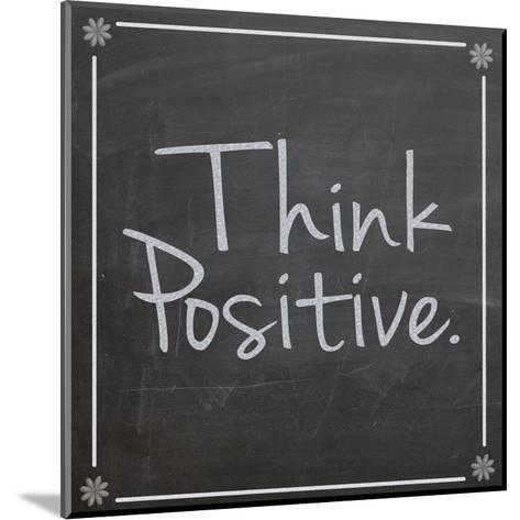 Think Positive-Lauren Gibbons-Mounted Art Print