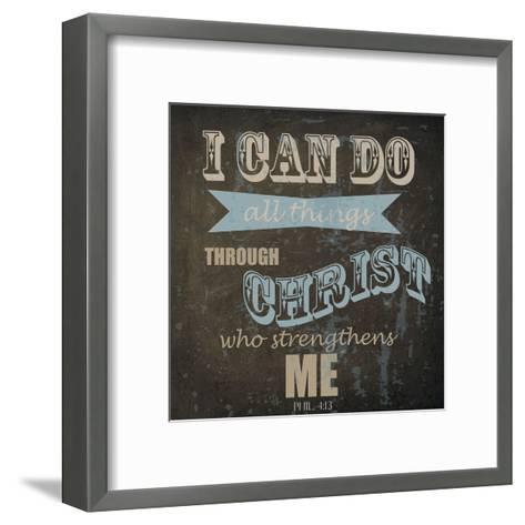 All Things-Taylor Greene-Framed Art Print