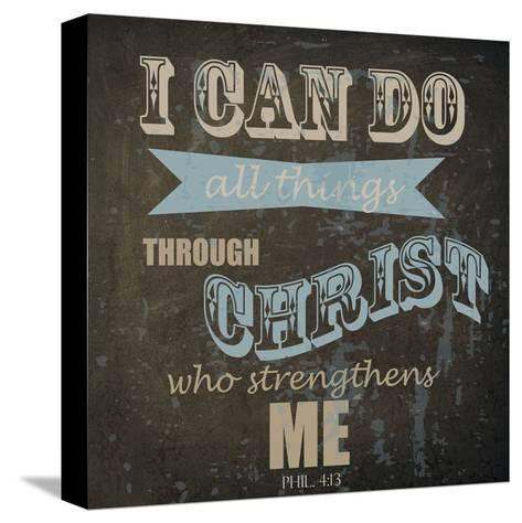 All Things-Taylor Greene-Stretched Canvas Print