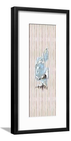 Beachside Gulls-Anne Ormsby-Framed Art Print