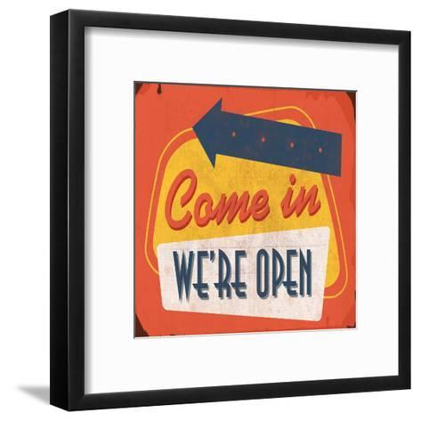 Come In-Jace Grey-Framed Art Print