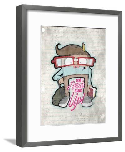 Real Nerds-Enrique Rodriquez, Jr.-Framed Art Print