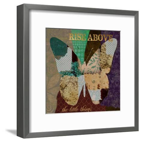 Rise Above-Taylor Greene-Framed Art Print