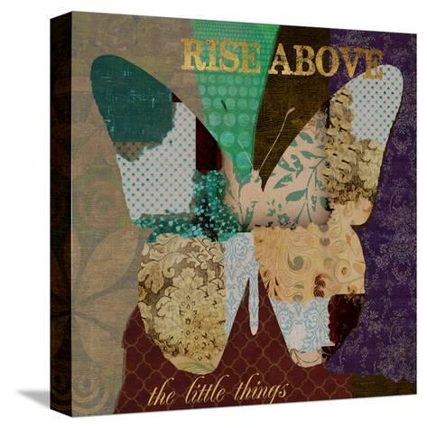 Rise Above-Taylor Greene-Stretched Canvas Print