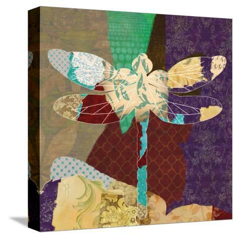 Rise Above Dragonfly 2-Taylor Greene-Stretched Canvas Print