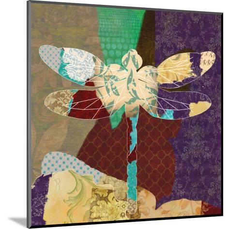 Rise Above Dragonfly 2-Taylor Greene-Mounted Art Print