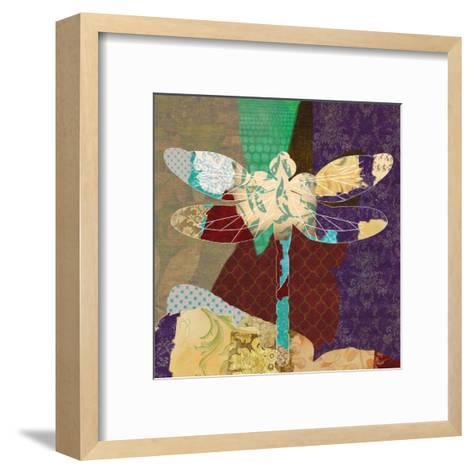 Rise Above Dragonfly 2-Taylor Greene-Framed Art Print