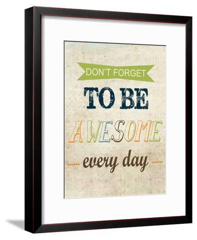 Don't Forget-Taylor Greene-Framed Art Print