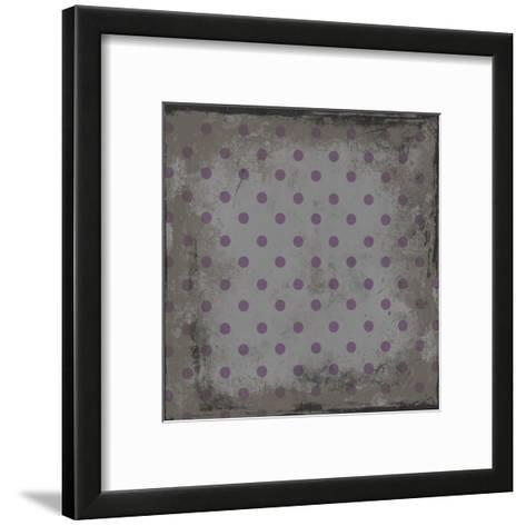 Pattern 3-Jace Grey-Framed Art Print
