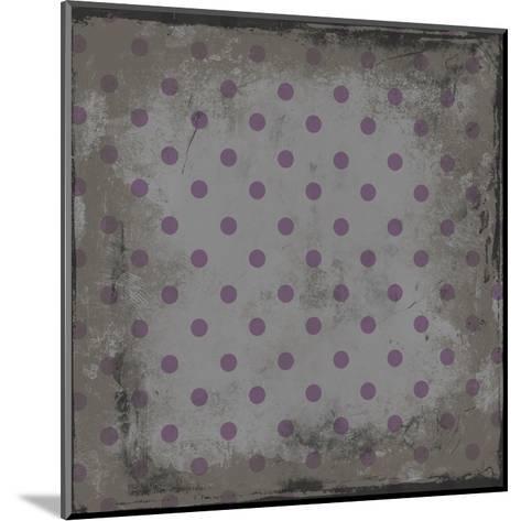 Pattern 3-Jace Grey-Mounted Art Print
