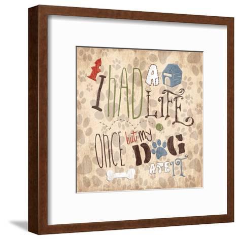 My Dog-Jace Grey-Framed Art Print