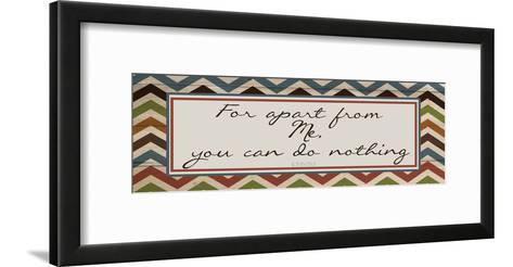 Apart From Me 2-Taylor Greene-Framed Art Print