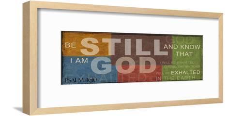 Be Still 2-Taylor Greene-Framed Art Print
