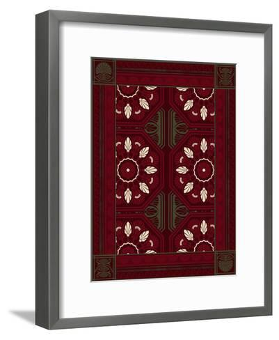 Patterns-Jace Grey-Framed Art Print