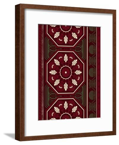 Patterns-Jace Grey-Framed Art Print