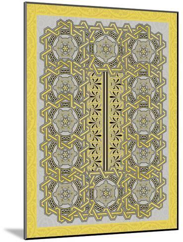 Patterns-Jace Grey-Mounted Art Print