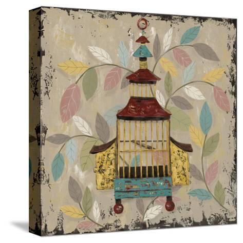 Decorative Bird Cage III-Jade Reynolds-Stretched Canvas Print