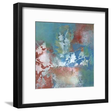 Silhouette II-W^ Green-Aldridge-Framed Art Print