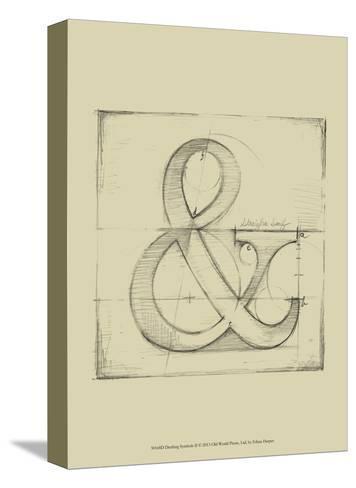 Drafting Symbols II-Ethan Harper-Stretched Canvas Print