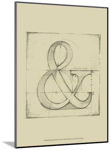 Drafting Symbols II-Ethan Harper-Mounted Art Print