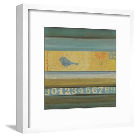 Blue Bird-W^ Green-Aldridge-Framed Art Print