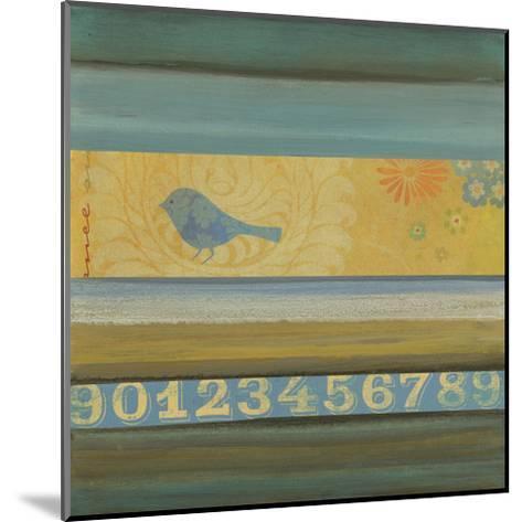 Blue Bird-W^ Green-Aldridge-Mounted Art Print