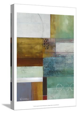 Cosmopolitan Abstract I-W^ Green-Aldridge-Stretched Canvas Print