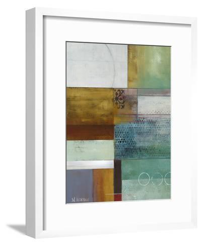 Cosmopolitan Abstract I-W^ Green-Aldridge-Framed Art Print